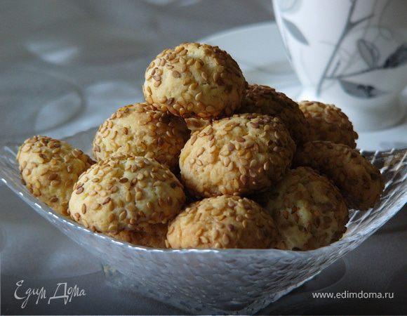 Печенье с кунжутом