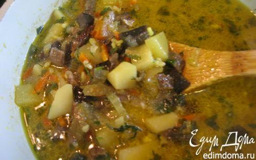 Рецепт Грибной суп-карри