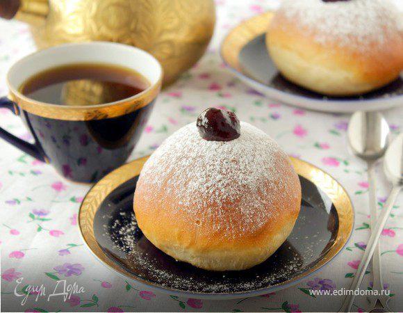 """Пончики """"Суфганиет"""" из духовки"""