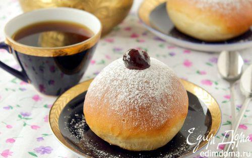 """Рецепт Пончики """"Суфганиет"""" из духовки"""