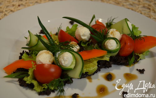 Рецепт Греческий салат по-новому