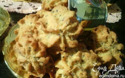 Рецепт Миндально-маковое печенье к чаю
