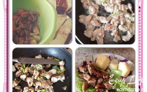 Рецепт Курица в медово-соевом соусе