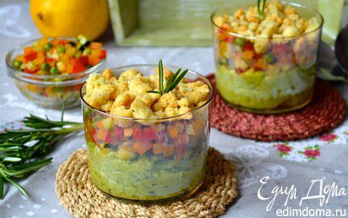 Рецепт Овощной крамбл