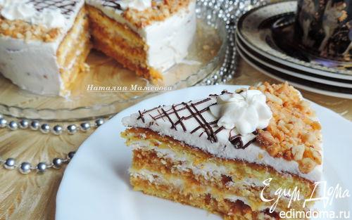 Рецепт Карамельно-арахисовый торт