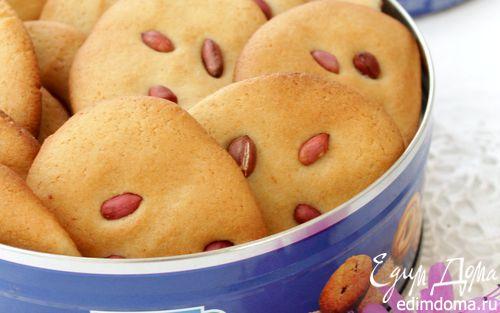 Рецепт Печенье с медом и арахисом