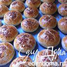 Маленькие булочки с начинкой (Poğaça)