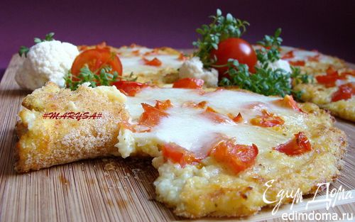 Рецепт Мини-пиццы из цветной капусты