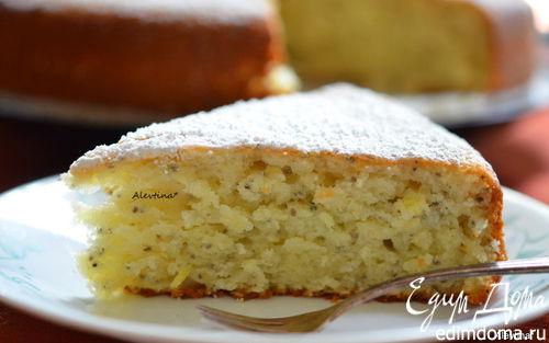 Рецепт Кекс лимонный с семенами чиа