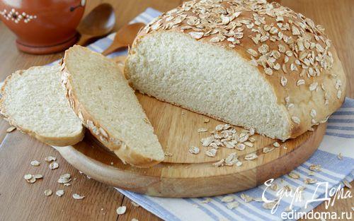 Рецепт Хлеб из овсяной муки