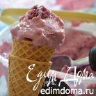 Замороженный ягодный греческий йогурт