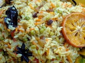 Индийский овощной пряный плов