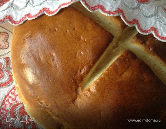 Белый хлеб на молочной сыворотке