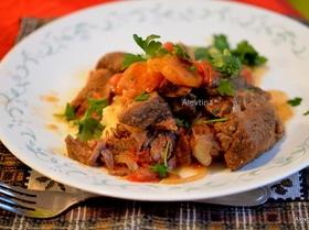 Мясо в марроканском стиле