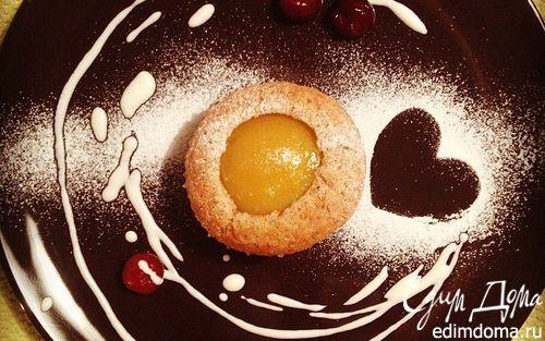 Рецепт Миндальные кексы с персиками