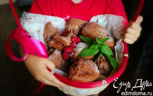 Рецепт Творожно-шоколадное печенье с начинкой