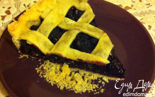 Рецепт Ежевичный пирог летний