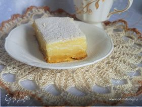 Пирог с лимонным кремом