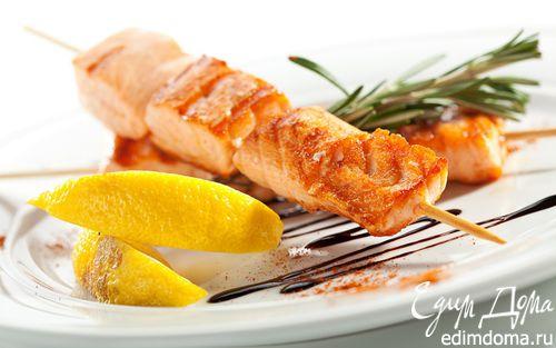 Рецепт Шашлык из рыбы