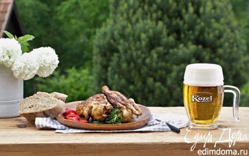 Рецепт Курица в цитрусово-пивном маринаде