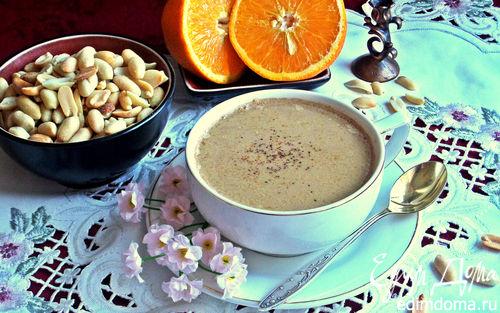 Рецепт Карамельно-ореховый кофе