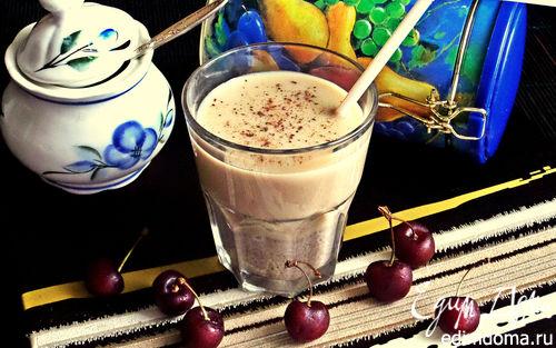 Рецепт Кофейный напиток на льняной муке