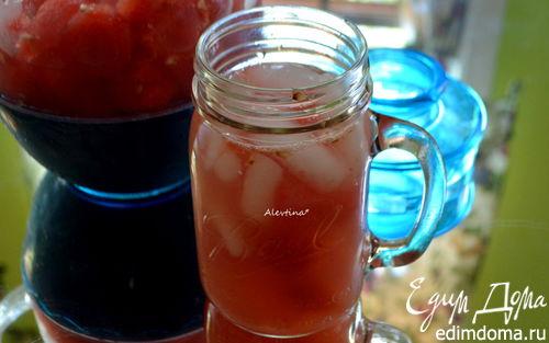 Рецепт Арбузно-имбирный освежающий напиток (Watermelon-Ginger Agua Fresca)