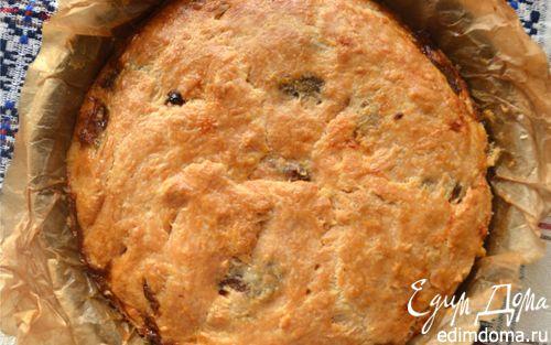 Рецепт Домашний сырный пирог с луком