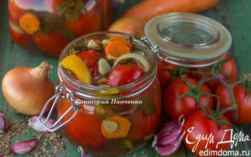Рецепт Ассорти с помидорами