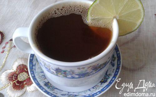 Рецепт Медово-лаймовый кофе