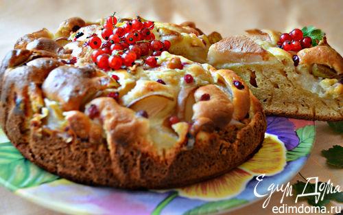Рецепт Грушевый пирог к вечернему чаю
