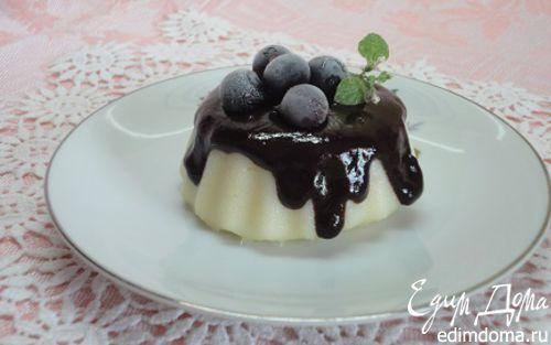 Рецепт Десерт из манной крупы с шоколадом