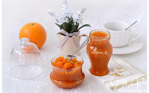 Рецепт Морковно-цитрусовое варенье