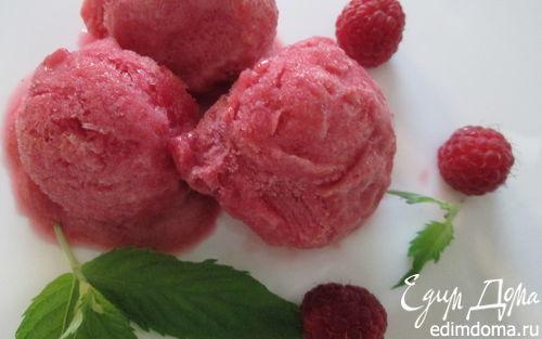 Рецепт Малиново-имбирный сорбет и мороженое
