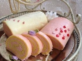 """Рулет """"Розовая мечта"""" (диетический)"""