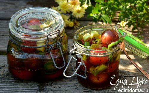 Рецепт Маринованные томаты с халапеньо