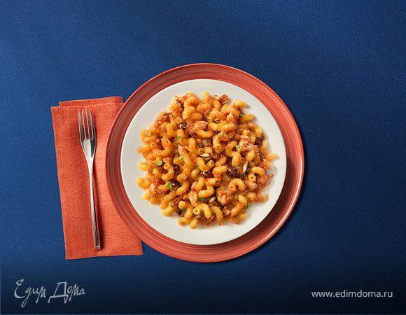 Челлентани с цветной капустой, оливками и рикоттой