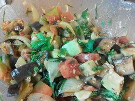 Печеные овощи