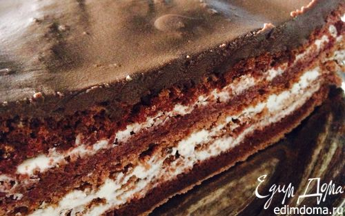 Рецепт Шоколадный торт без муки (диетический)