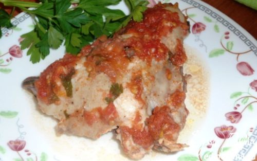 Рецепт Курица в томатном маринаде