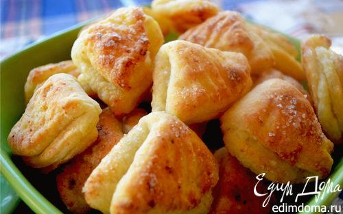 Рецепт Творожное печенье «Гусиные лапки»