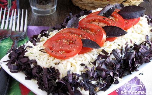 Рецепт Закуска из баклажанов по-армянски