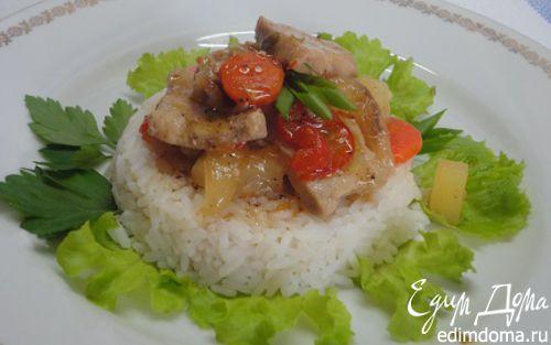Рецепт Кисло-сладкая свинина по-тайски