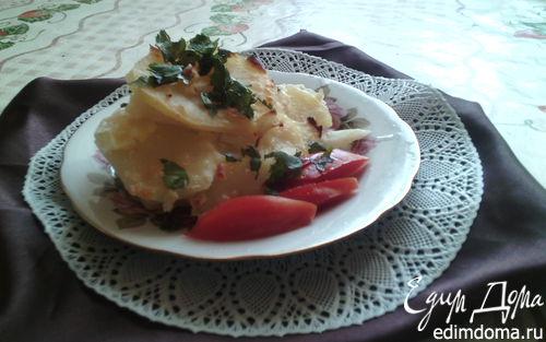 Рецепт Гратен из запеченного картофеля