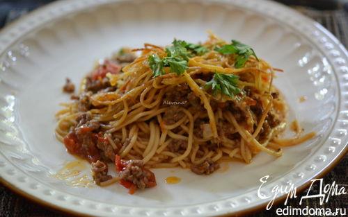Рецепт Запеканка со спагетти