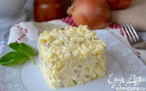 Рецепт Луковый салат по-польски