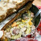 Слоёное рагу из мяса и овощей под хлебной корочкой (Baeckeoffe)