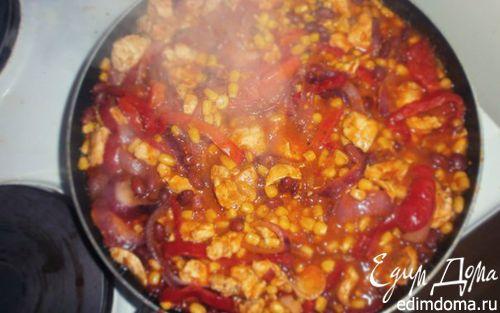 Рецепт Рагу с курицей по-мексикански