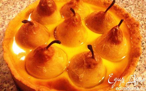 Рецепт Груши в сливочно-цитрусовой заливке