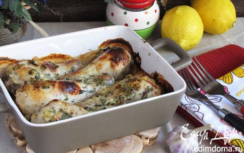 Рецепт Курица в лимонно-йогуртовом маринаде